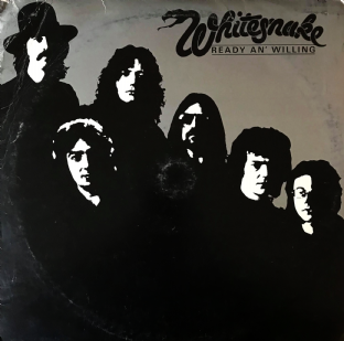 Whitesnake ‎- Ready An' Willing (LP) (VG-/F++)